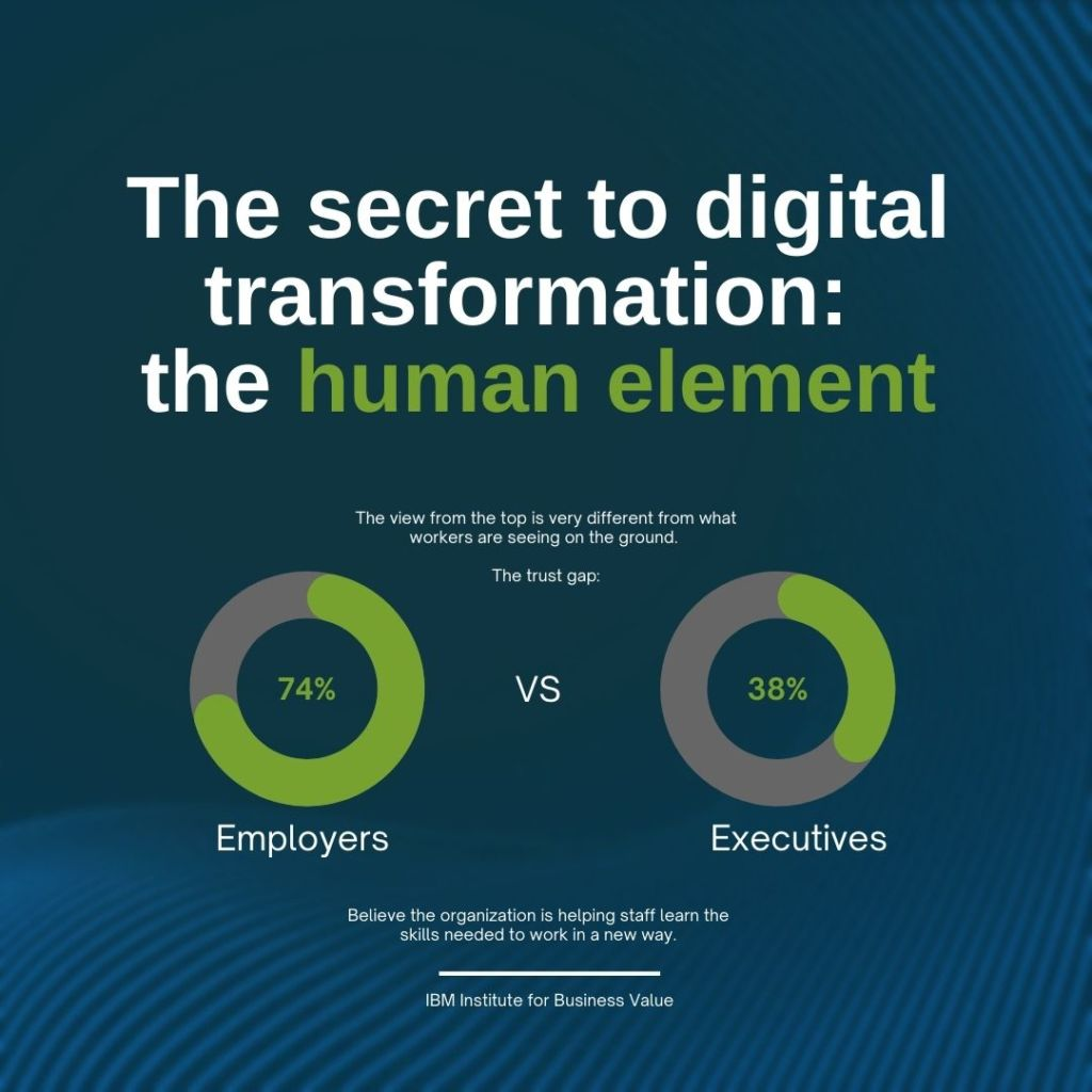 Data-Centric Leadership, Human Gap, IBM Trending Insights